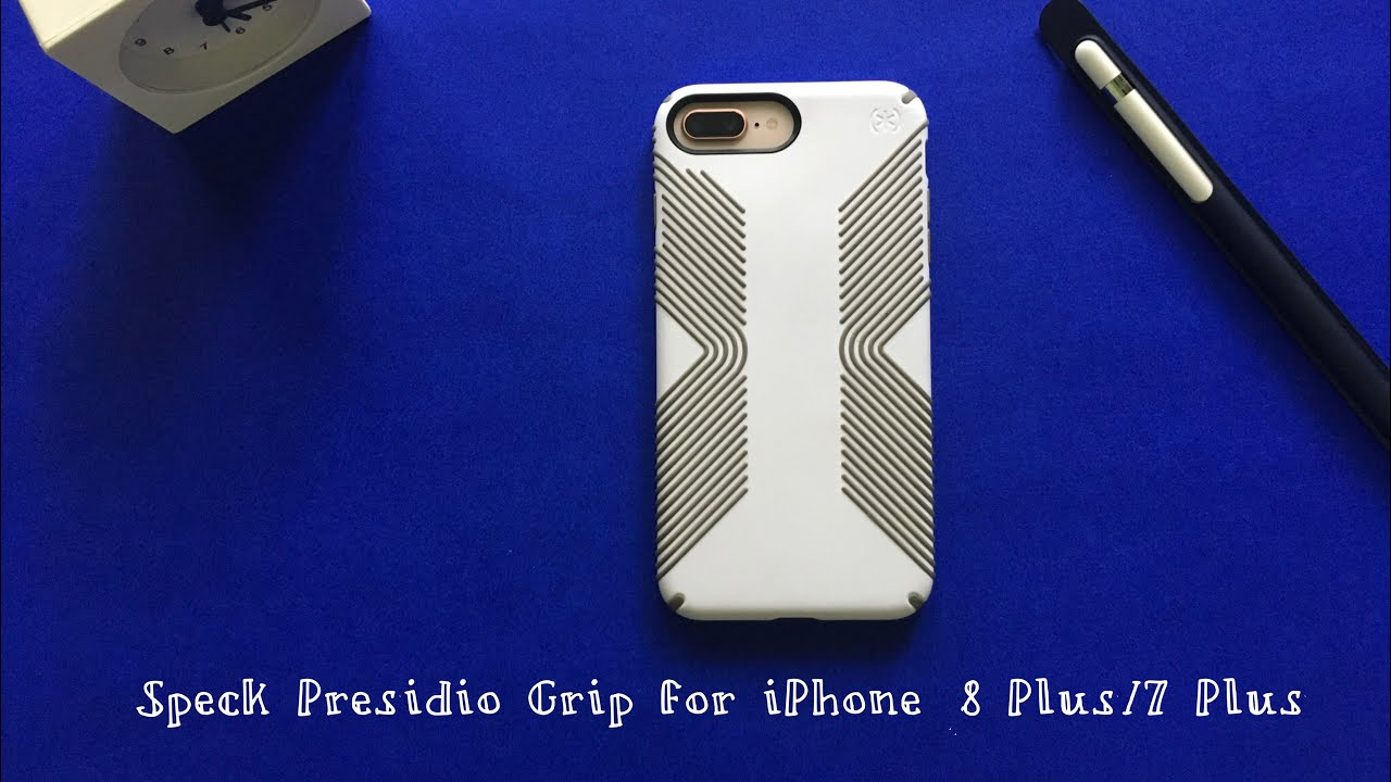 sneakers for cheap 041c5 80bbd Speck Presidio Grip Case for iPhone 8 Plus/7 Plus Review(Shot on iPhone  6s)!!
