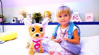 Игрушка собачка Chi Chi Love ЧиЧилав / Интерактивные ИГРУШКИ для детей  / Оливия Влог vlog