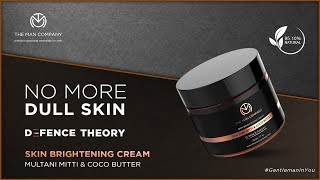 Skin Brightening Cream for Men | No More Dull Skin | Defence Theory - The Man Company