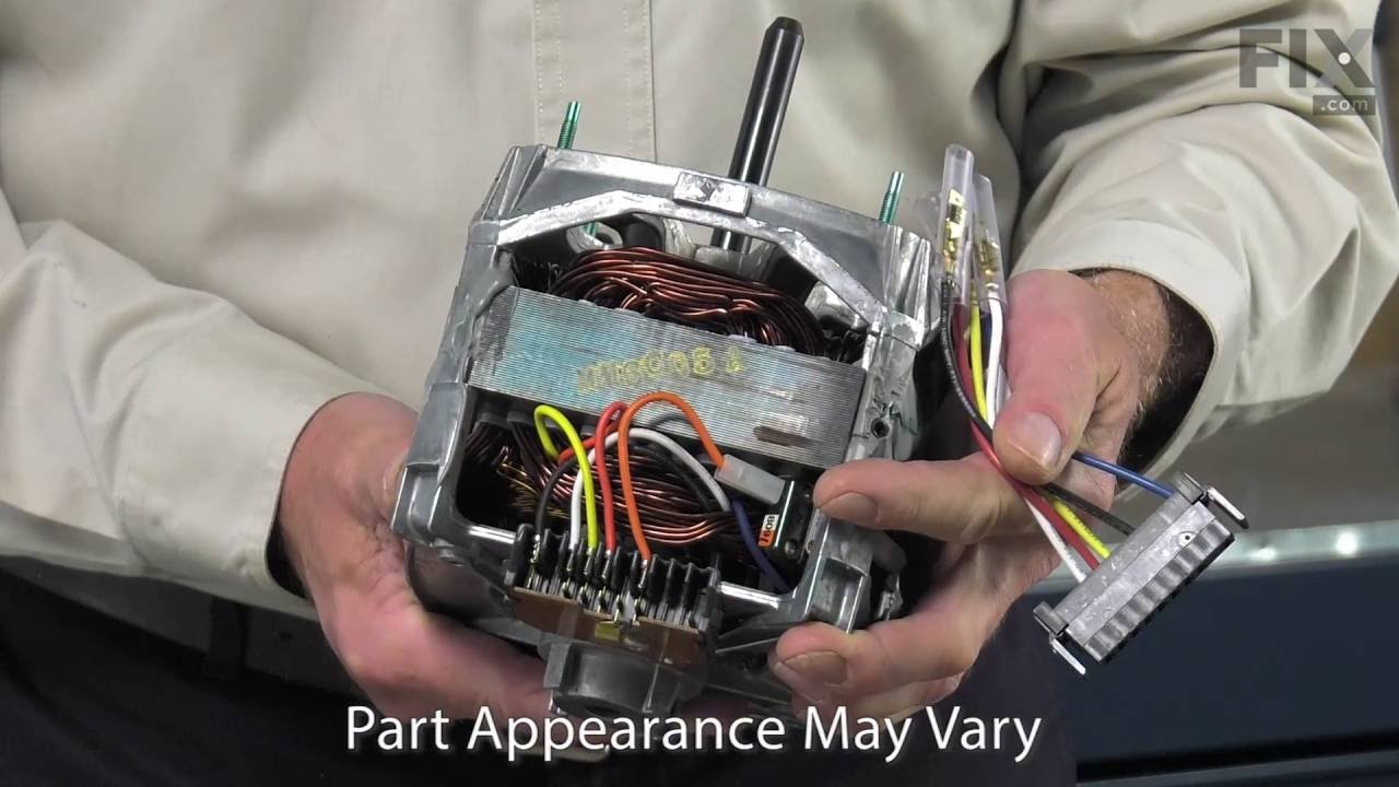 maytag washer repair how to replace the drive motor [ 1280 x 720 Pixel ]