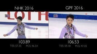 Yuzuru Hanyu SP - Let's Go Crazy   NHK vs GPF