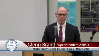 Master Plan Visioning Phase 2 12/8/16