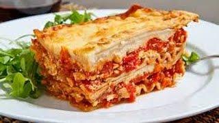 Готовим вегетарианскую Лазанью. Vegetarian Lasagna. Простые и быстрые рецепты. кулинария