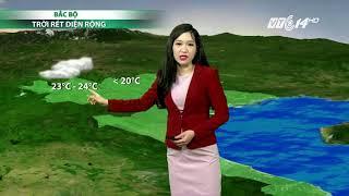 VTC14 | Thời tiết tổng hợp 19/11/2017|Nhiệt độ cao nhất 27-30 độ các tỉnh Nam Trung Bộ, Tây Nguyên