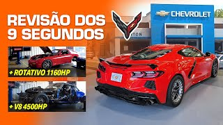 "FuelTech's Twin Turbo C8 Corvette ""9-second"" dealer service!? (English Subtitles)"