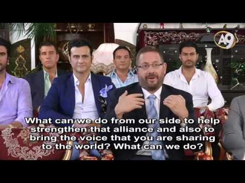Live Conversation of Mr. Adnan Oktar with Rabbi Dov Lipman