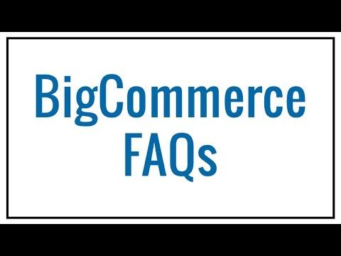 BigCommerce FAQs | Coalition Technologies