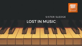"""How to play """"Lost In Music"""" by on your piano ?"""