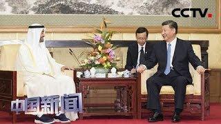 [中国新闻] 习近平再次会见阿联酋阿布扎比王储穆罕默德 | CCTV中文国际