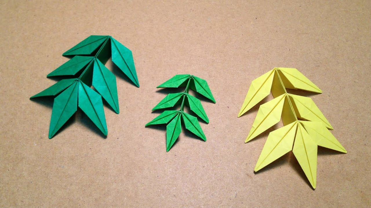 origami flower marigold leaf instructions toshikazu