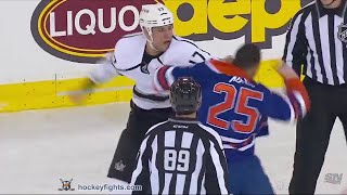 Milan Lucic vs Darnell Nurse Dec 29, 2015 thumbnail