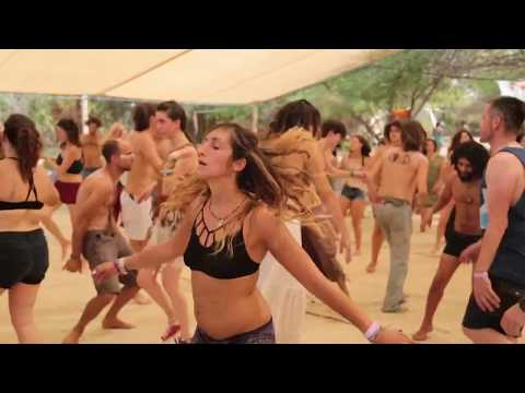 Festival in Israel@Hippie productions(VIDEO)@Psychedelic trance ॐ