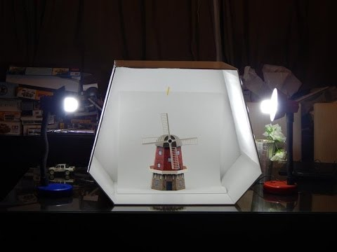 Build A Custom Home Made Light Box / Tent