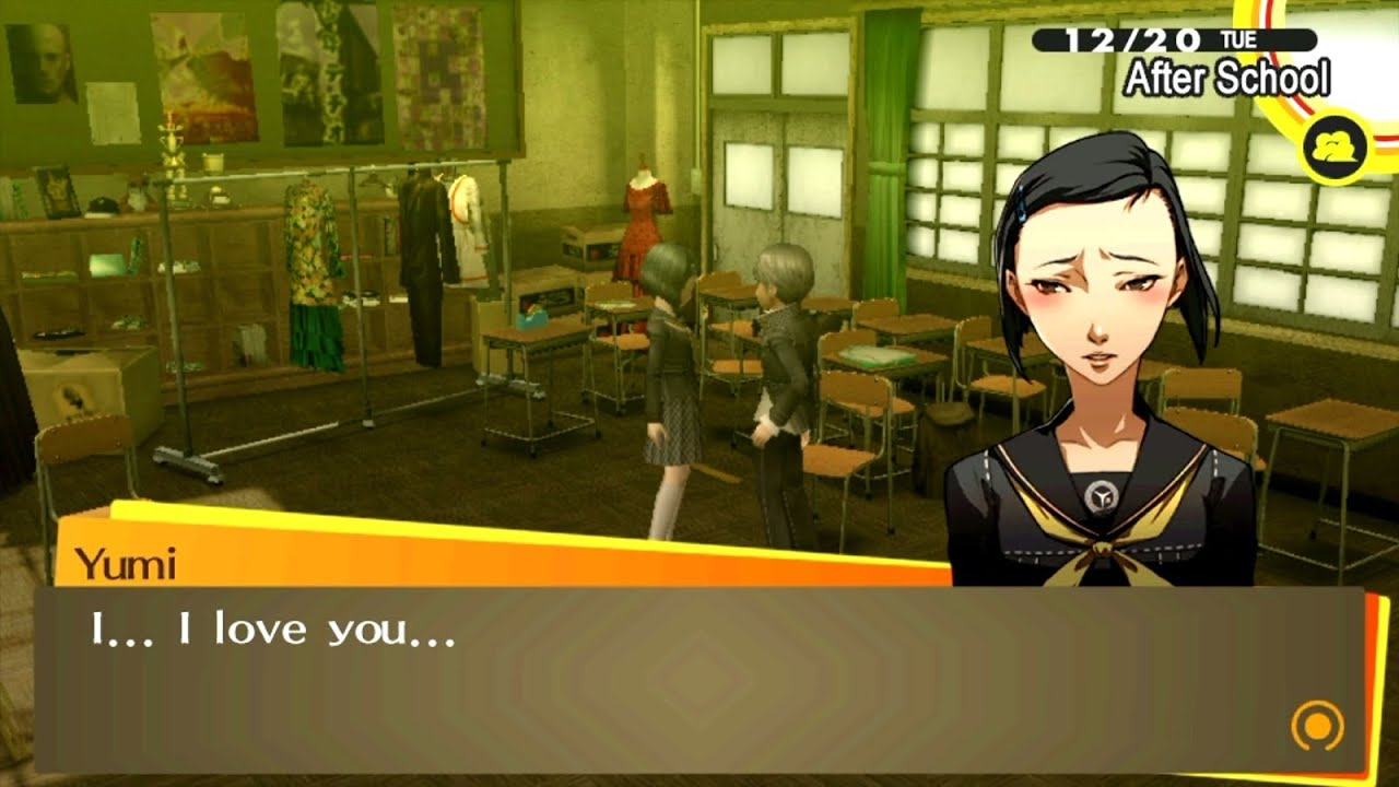 Persona 4 dating choices