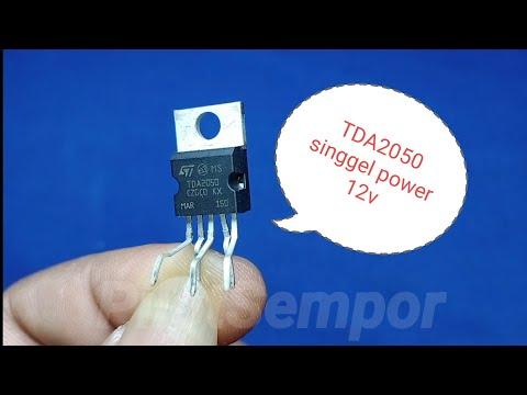 Amplifier TDA2050 Singgel Power 12v Dc