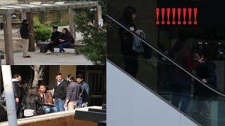 EJP التعارف على الناس بطريقة غريبة  - Awkwardly meeting new people prank!