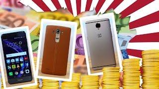 Die besten Top-Smartphones unter 400€!
