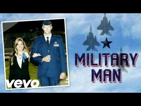 Jessie James - Military Man (Lyric Video)
