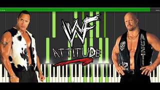 The Attitude Era Piano Medley - Synthesia (WWE)
