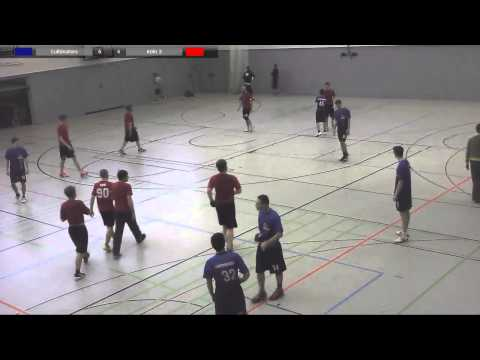 Indoor Deutsche Meisterschaft 1. Liga 2014: Cultimaters vs Köln 3