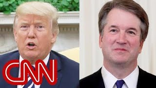 trump kavanaugh one of the finest people that ive ever known