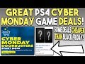 Great PS4 Cyber Monday 2018 Deals! Lots of Games Cheaper Than Black Friday!