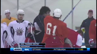NHL Teammate Fights