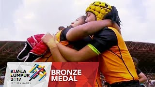 Rugby 7s: Women's Bronze Medal 🥇match Philippines 🇵🇭 vs 🇲🇾 Malaysia | 29th SEA Games 2017