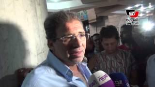 «خالد يوسف» ينضم لاعتصام الصحفيين بعد اقتحام «الداخلية» لمقر النقابة