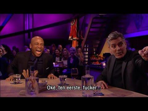 George Clooney Niet Blij Met Luuk Ikink - RTL LATE NIGHT
