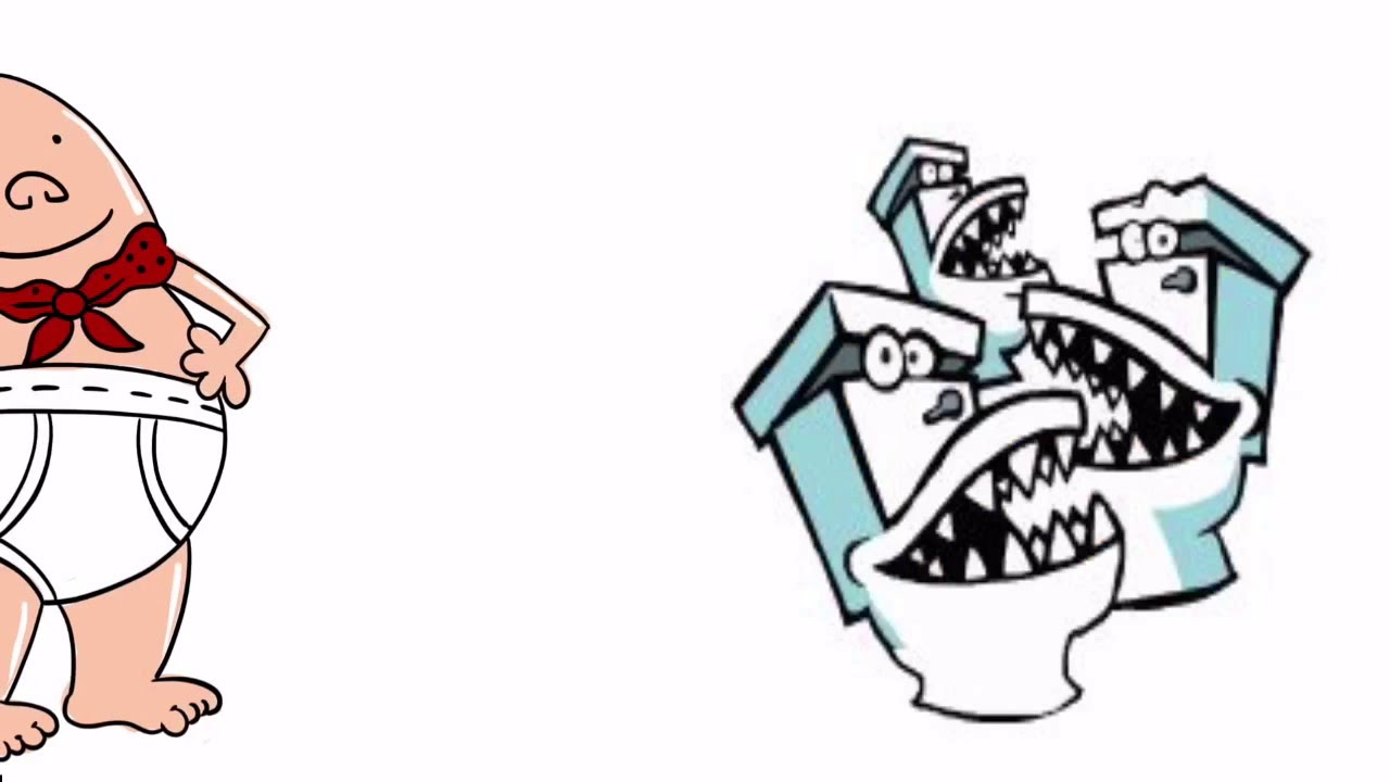 CAPTAIN UNDERPANTS VS TOILETS - YouTube