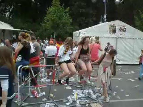 Germany 2014 World Cup Champion celebration at Brandenburg Gate, Berlin by Tariq Ansari P2