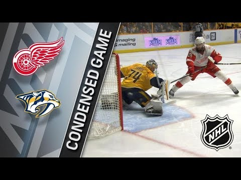 Detroit Red Wings vs Nashville Predators – Feb. 17, 2018 | Game Highlights | NHL 2017/18. Обзор