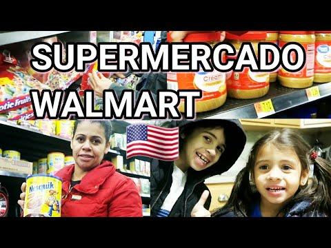COMPRAS SUPERMERCADO WALMART ESTADOS UNIDOS