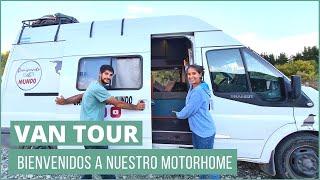 [  VAN TOUR  ] Conocé nuestra FORD TRANSIT MOTORHOME por dentro   | 《 De Ushuaia a Alaska en  》