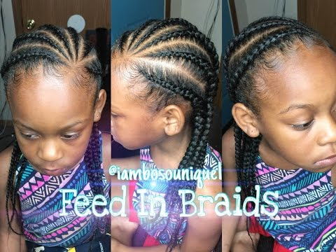 How To Do Feed In Braids/Cornrows