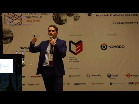Talal Tabbaa at B Conference Abu Dhabi 2017