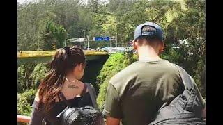 Así cruzó la pareja de mochileros venezolanos la frontera con Ecuador | Noticias Caracol