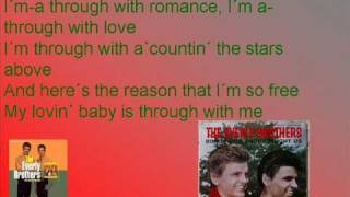 everly brothers bye bye love with lyrics
