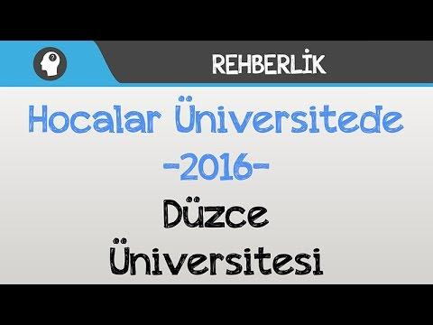 hocalar üniversitede  düzce üniversitesi