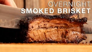 Smoked Brisket Recipe Overnight in the Blaze Charcoal Kamado Grill  Delicious, Tender & Juicy!