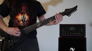 Audio Assault Grind Machine 2 , Toontrack Metal! EZX, Solar V 1.7, Guitar Playthrough