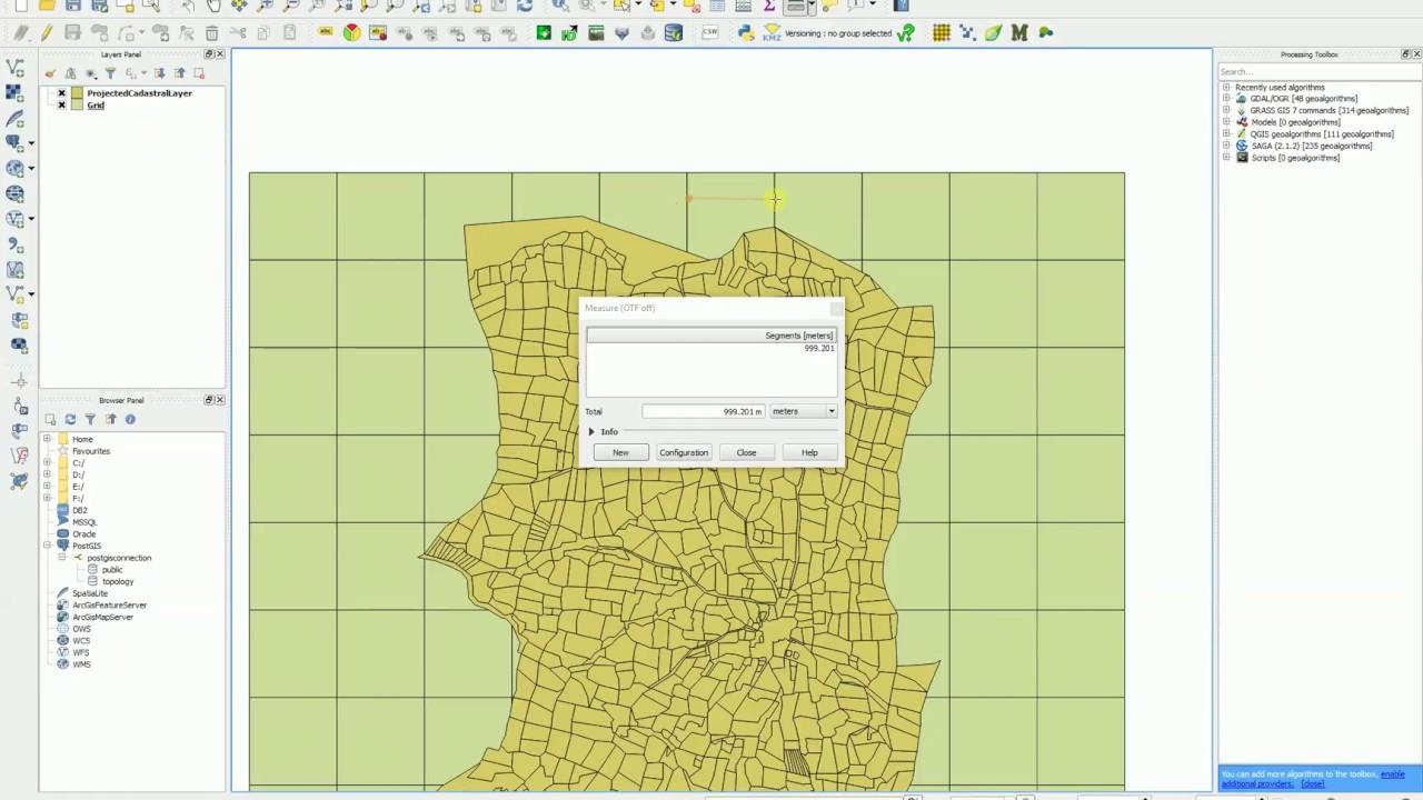 QGIS - Vector Grid - Create Fishnet