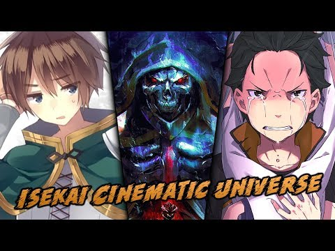 Isekai Cinematic Universe Anime Announced | Overlord, Re
