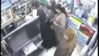 Repeat youtube video العيالات يسرقون محل تجاري