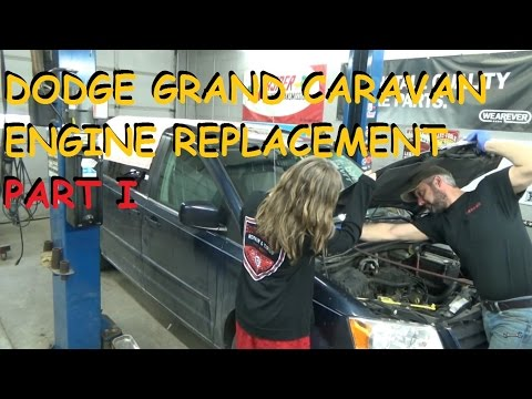 Dodge Grand Caravan 3.8 - Engine Replacement - Part 1
