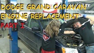 Dodge Grand Caravan 3.8 - Engine Replacement - Part 1