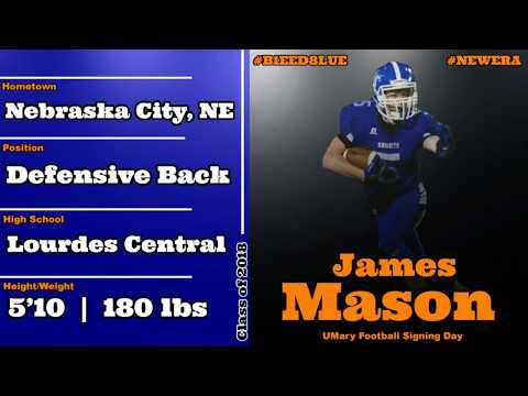 James Mason Marauders Football Signing Day Video 2018