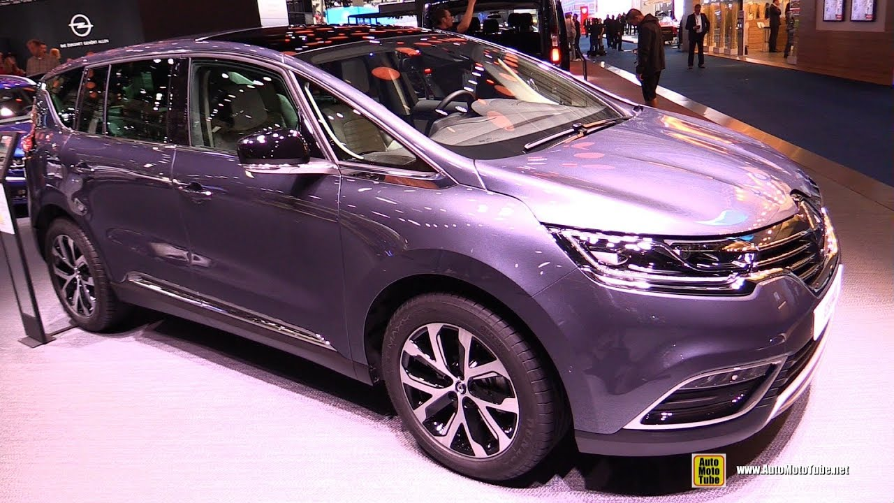 2018 renault espace exterior and interior walkaround 2017 frankfurt auto show youtube. Black Bedroom Furniture Sets. Home Design Ideas