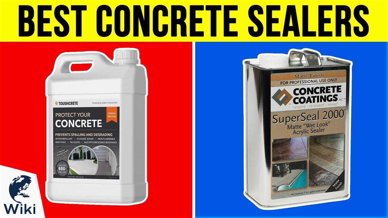 10 Best Concrete Sealers 2019